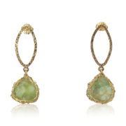 Smadar Sarid - Prehnite Earrings
