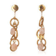 Smadar Sarid - Roze Quarts Earrings