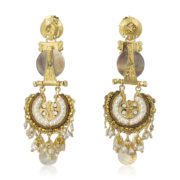 Gas Bijoux - Aicha Gold Earrings