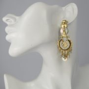 Gas Bijoux - Aicha Gold Earrings model