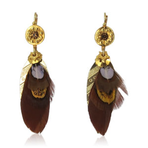 Gas Bijoux - Sao Feather Earrings