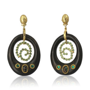 Gas Bijoux - Woodstock Earrings