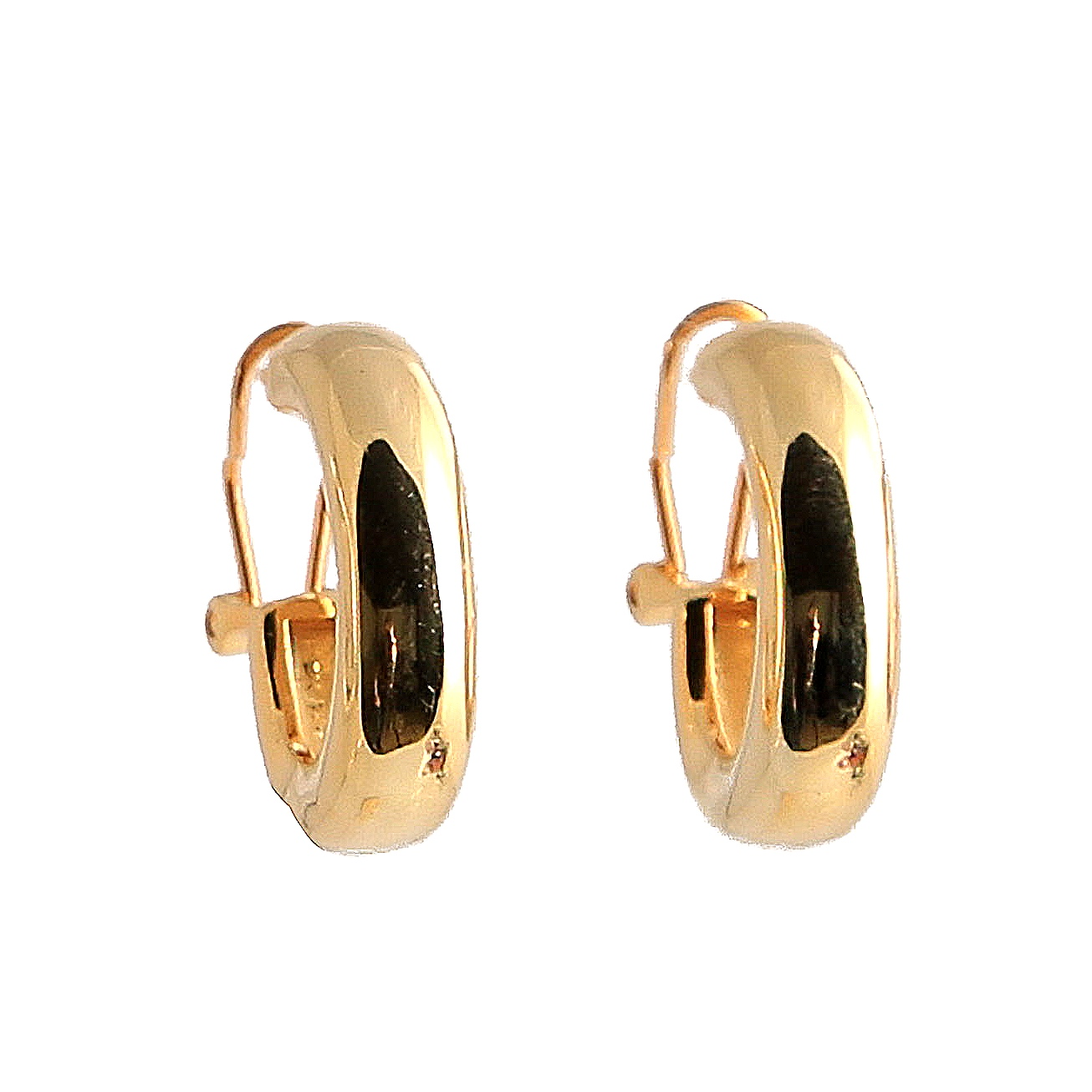 Bauer Basics - Ear Rings Gold Large