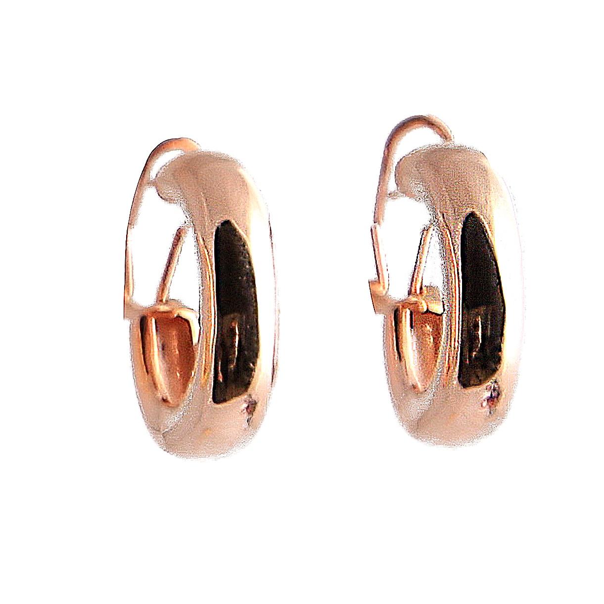 Bauer Basics - Ear Rings Rosegold Large