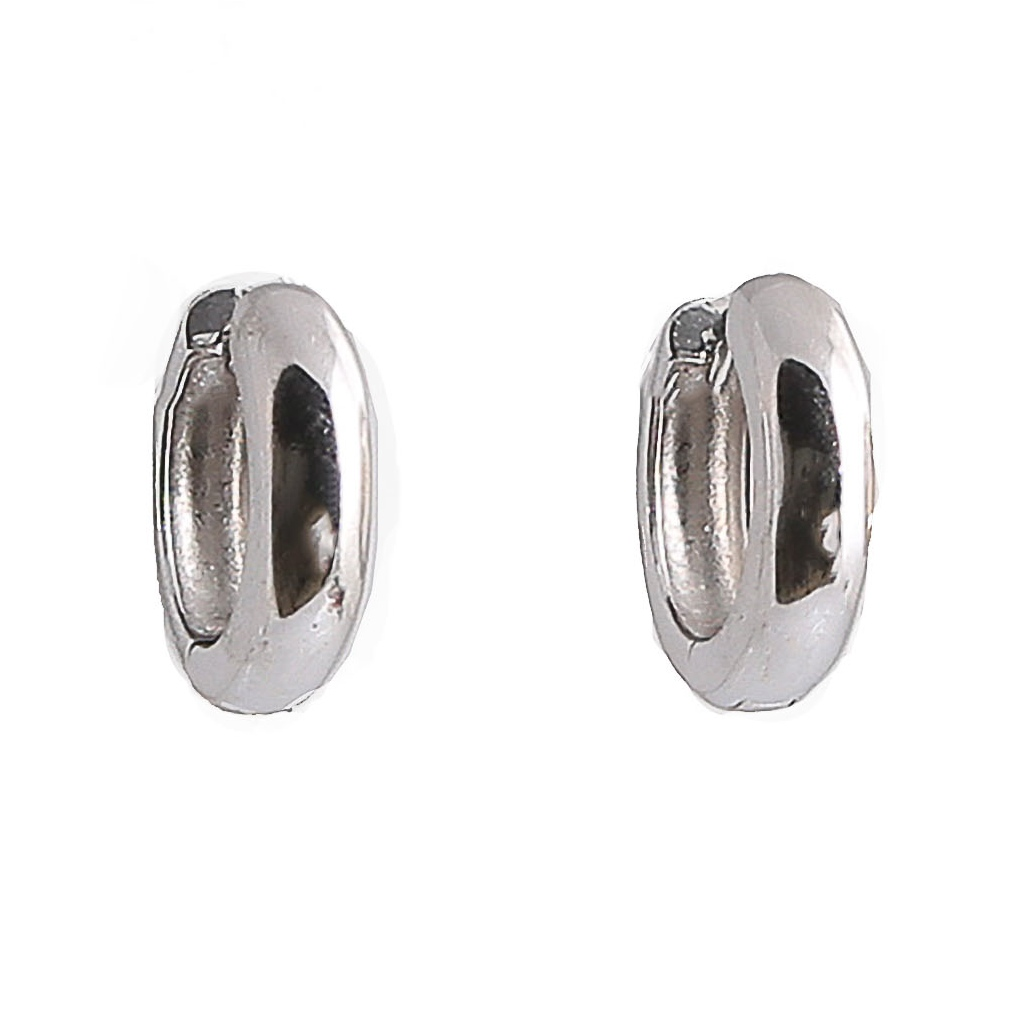 Bauer Basics - Ear Rings Silver Medium