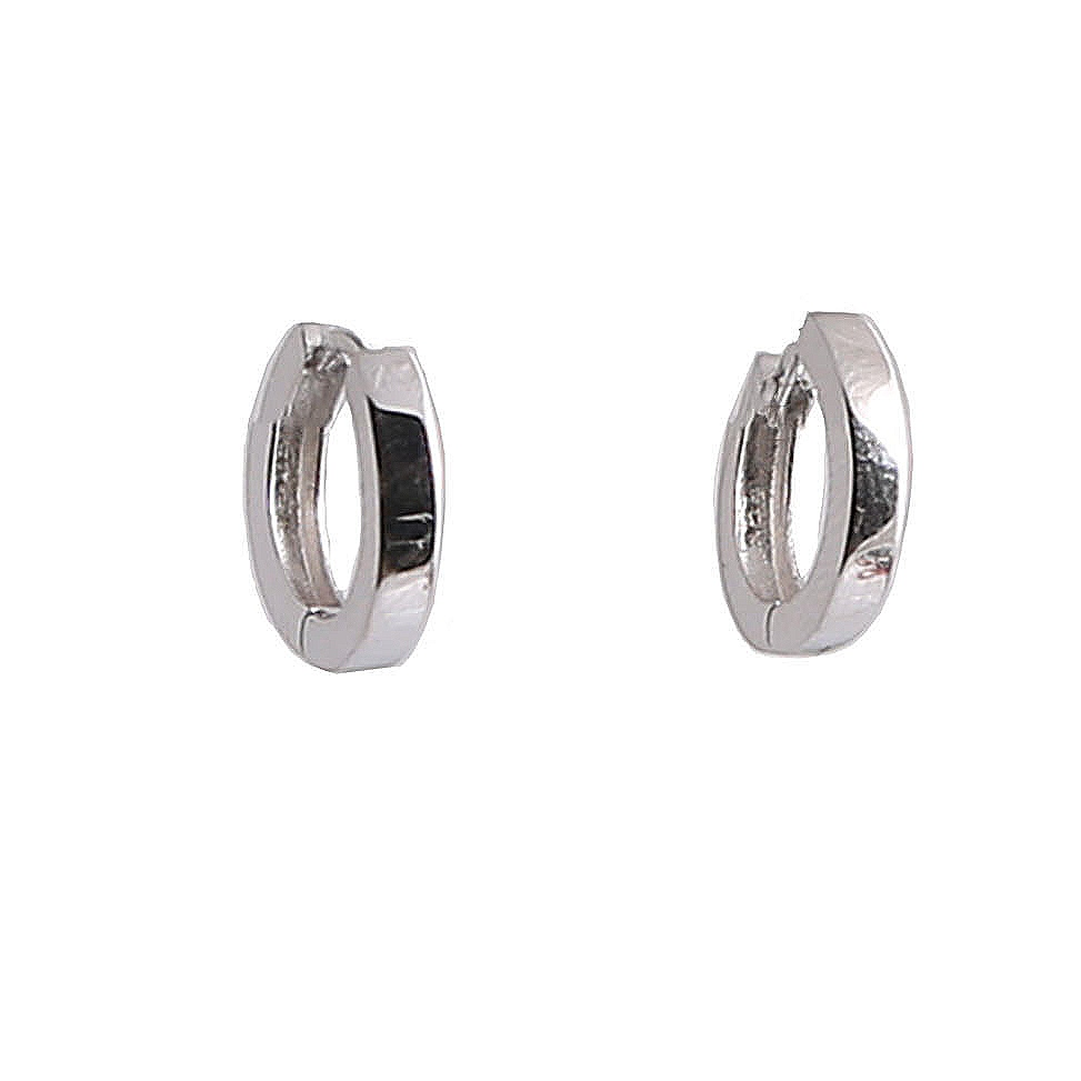 Bauer Basics - Ear Rings Silver Small