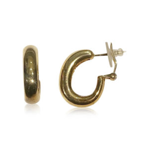 Bauer Basics - Earrings Gold Large