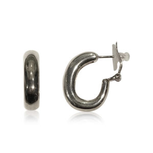 Bauer Basics - Earrings Silver Large