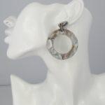Bauer Basics - Earrings Turtle Grey model