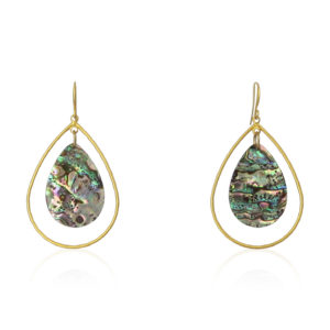 Lara Design - Earrings Abalone