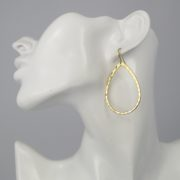 Lara Design - Earrings Gold Drops model