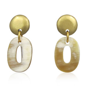 Lara Design - Earrings Light Buffalo