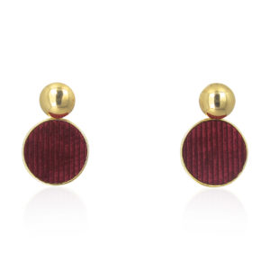 Lara Design - Earrings Red Velvet