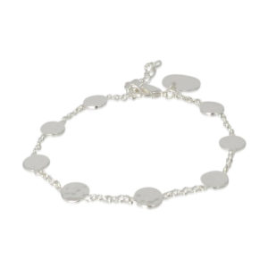 Pink Sand Jewelry - Bracelet Silver Coins