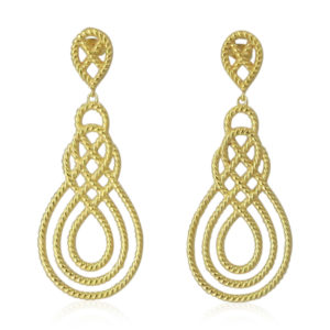 Pink Sand Jewelry - Earrings Gold Ways