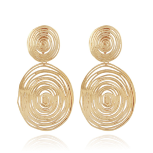 Gas Bijoux - Wave Earrings Large Round