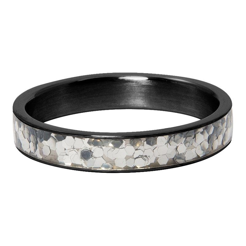 Ixxxi - Glitter Confetti Black R04602