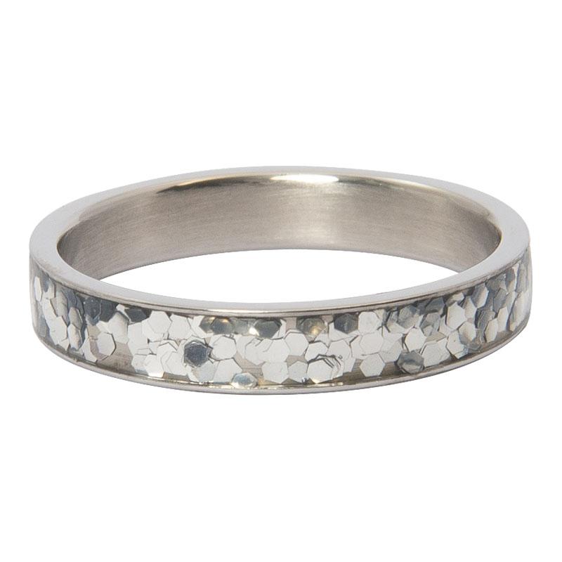 Ixxxi - Glitter Confetti Silver R04602