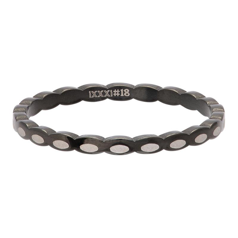 Ixxxi - Oval Shape Black R02815