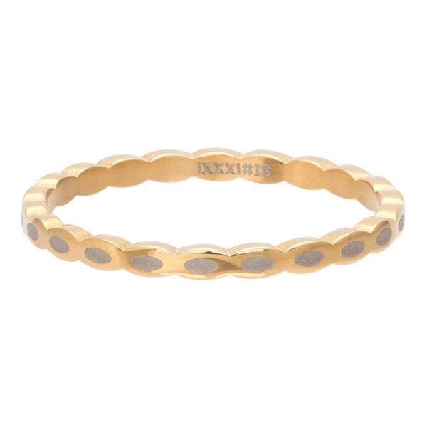 Ixxxi - Oval Shape Gold R02815