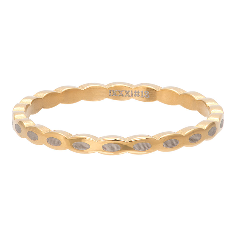 Ixxxi - Oval Shape Gold R02815