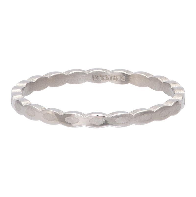 Ixxxi - Oval Shape Silver R02815