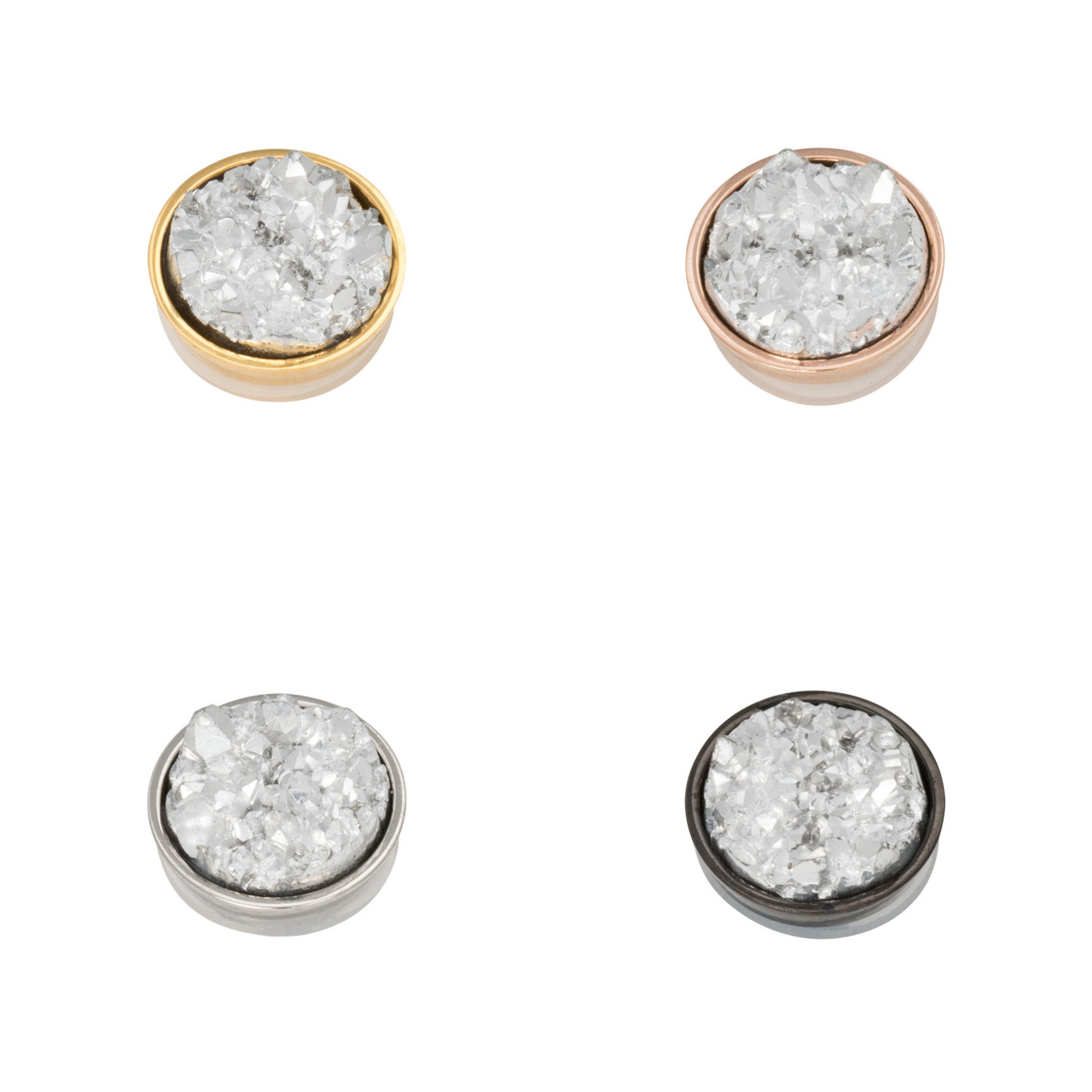 Ixxxi - Top Part - Drusy Crystal R05016