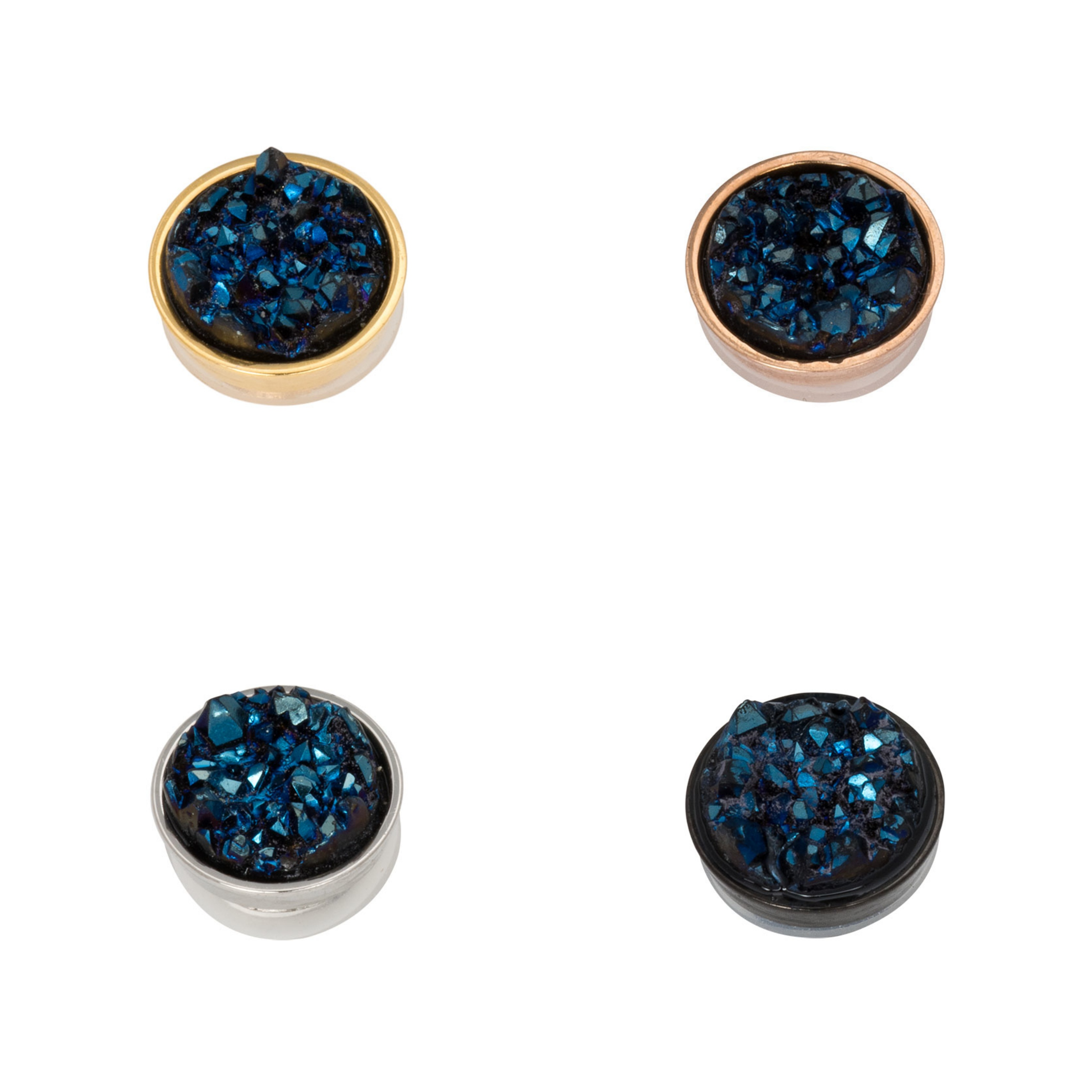 Ixxxi - Top Part - Drusy Dark Blue R05013