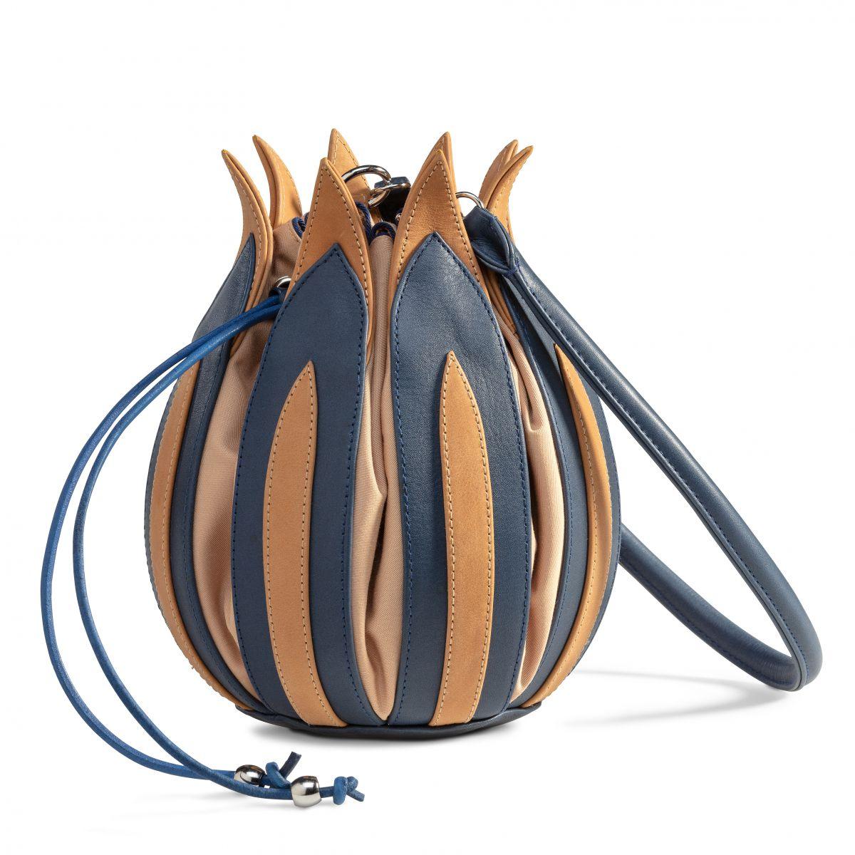 By Lin – Tulip Rembrandt Blue Cognac Camel