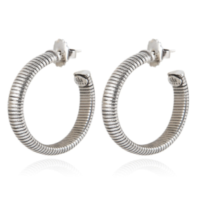 Gas Bijoux - Milo Silver Earrings