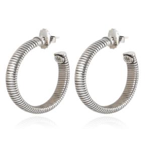Gas Bijoux - Milo Silver Earrings