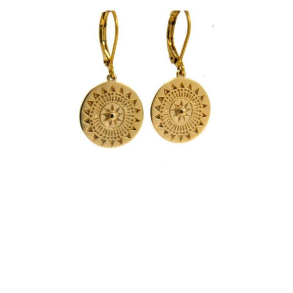 Lilly Jewelry - Earrings Gold 01