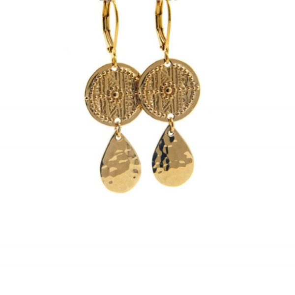 Lilly Jewelry - Earrings Gold 03