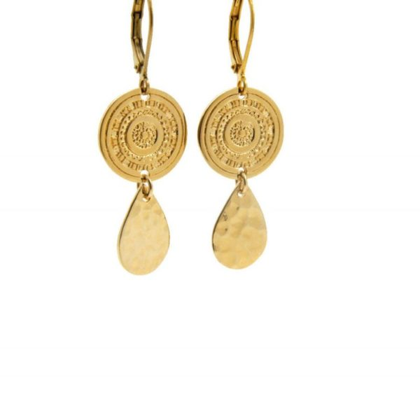 Lilly Jewelry - Earrings Gold 04
