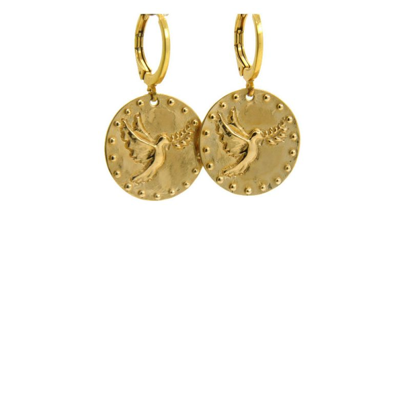 Lilly Jewelry - Earrings Gold Birds