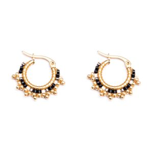 Melz - Earring Fay Black