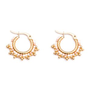 Melz - Earring Fay Light Pink
