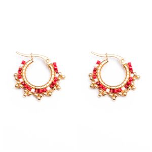 Melz - Earring Fay Red