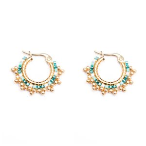 Melz - Earring Fay Turquoise