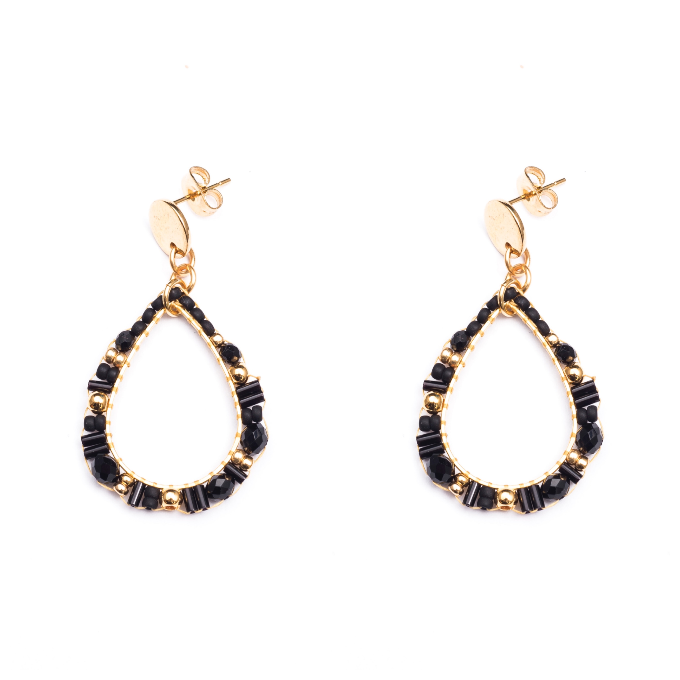 Melz - Earring Isa Black