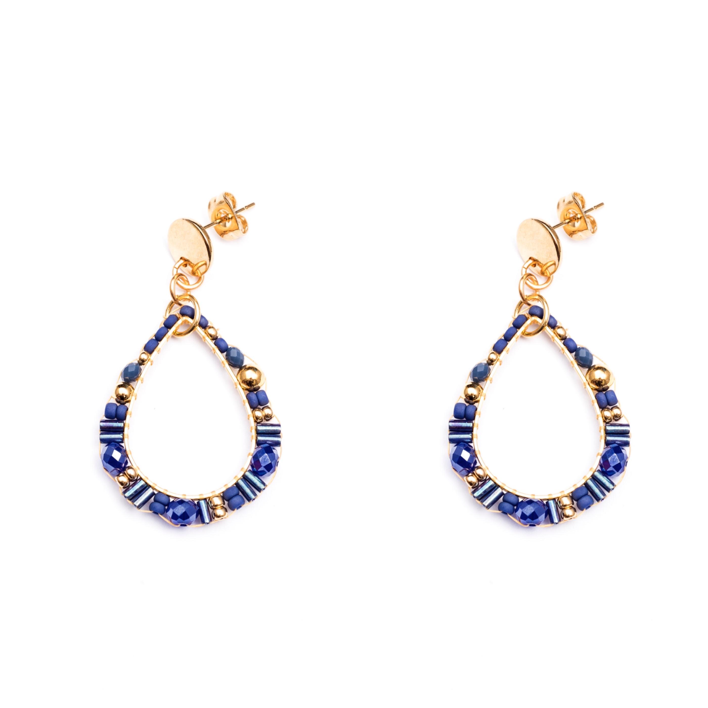 Melz - Earring Isa Blue