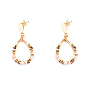 Melz - Earring Isa Light Pink