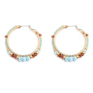 Melz - Earring Jill Medium Turquoise