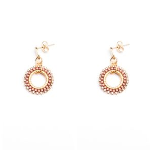 Melz - Earring Kate Dark Pink