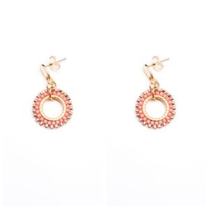Melz - Earring Kate Pink