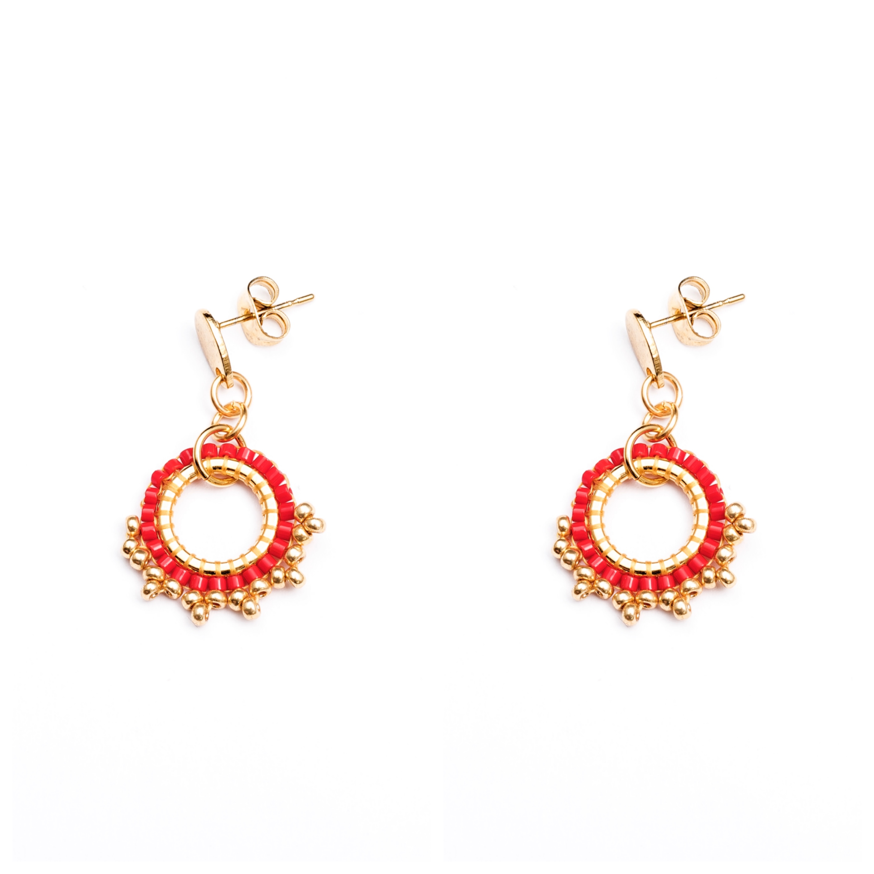 Melz - Earring Lizzy Red
