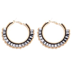 Melz - Earring Lynn Medium Black