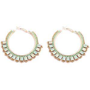 Melz - Earring Lynn Medium Turquoise