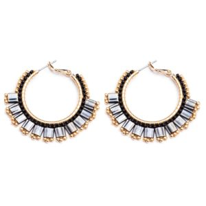 Melz - Earring Lynn Small Black