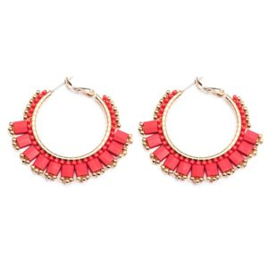 Melz - Earring Lynn Small Red